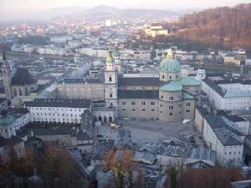 La parte centrale della città.